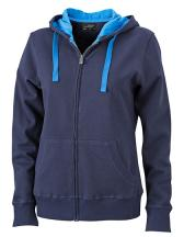 Ladies` Hooded Jacket